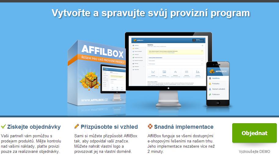 affiliate software v češtině pro váš eshop