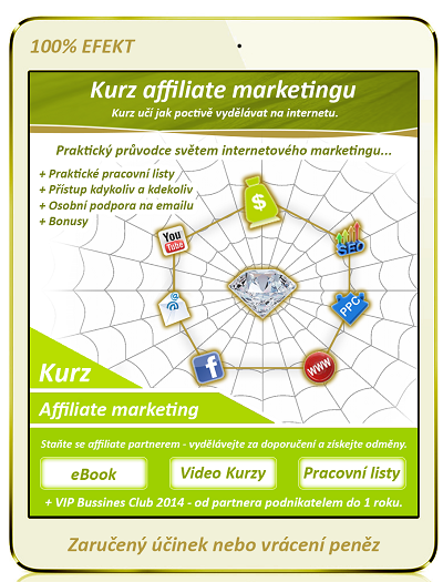 affiliate marketing kurz menší