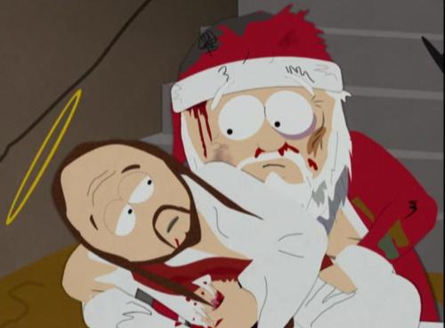 Santa VS. Ježíš