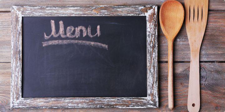 Tabule s menu